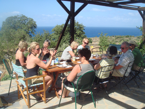 healthy eating cookery holiday